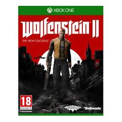 WOLFENSTEIN II THE NEW COLOSSUS [POL] (używana) (XONE)