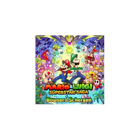 MARIO&LUIGI SUPERSTAR SAGA + BOWSERS SCHERGEN (nowa) (3DS)