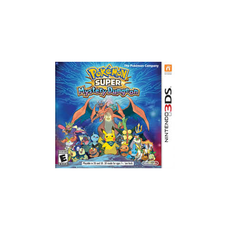 POKEMON SUPER MYSTERY DUNGEON [ENG] (używana) (3DS)