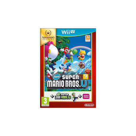 NEW SUPER MARIO BROS.U+NEW SUPER LUIGI [ENG] (używana) (WiiU)