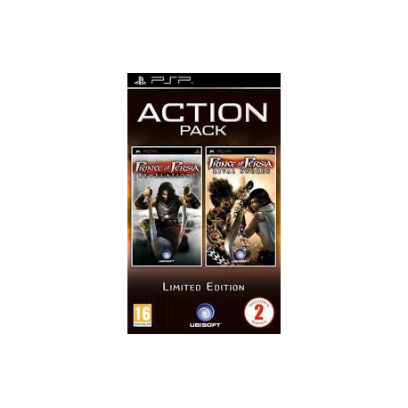 PRINCE OF PERSIA REVELATIONS+PRINCE OF PERSIA RIVAL SWORD ACTION PACK [ENG] (używana) (PSP)