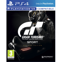 Gran Turismo Sport Day One Edition [POL] (nowa) (PS4)