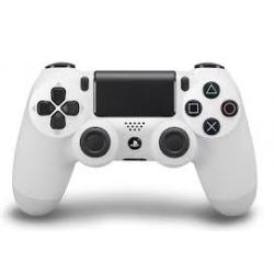 Pad PS4 v1 Biały Powystawowy (używana) (PS4)