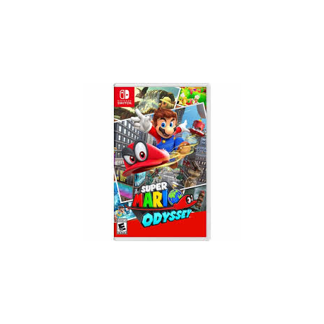 SUPER MARIO ODYSSEY [ENG] (nowa) (Switch)