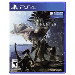 MONSTER HUNTER WORLD [POL] (nowa) (PS4)