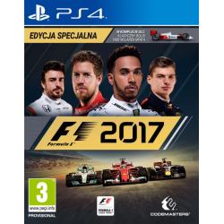 F1 2017 EDYCJA SPECJALNA [POL] (używana) (PS4)