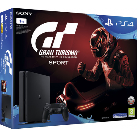 PLAYSTATION 4 1TB 2116B +GRAN TURISMO SPORT (nowa) (PS4)