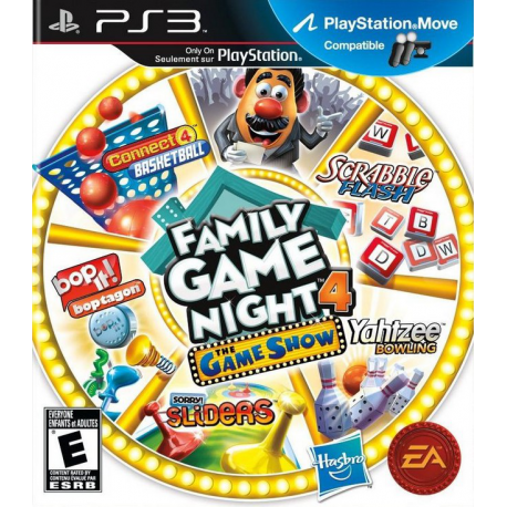 FAMILY GAME NIGHT 4 THE GAME SHOW [ENG] (używana) (PS3)