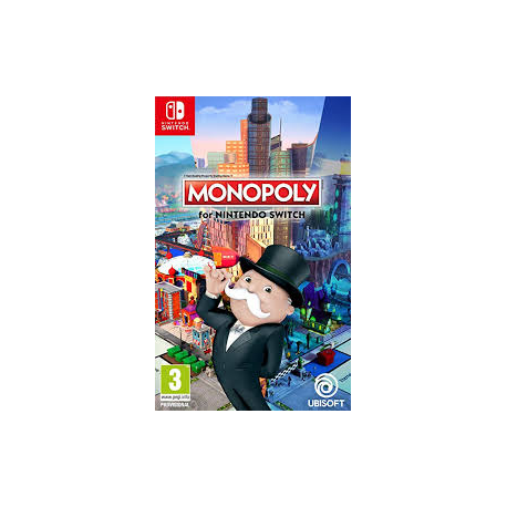MONOPOLY FOR NINTENDO SWITCH [ENG] (nowa) (Switch)