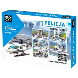 KLOCKI BLOCKI POLICJA KB6729 (nowa)