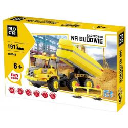 KLOCKI BLOCKI CIĘŻARÓWKA NA BUDOWIE KB8043 (nowa)