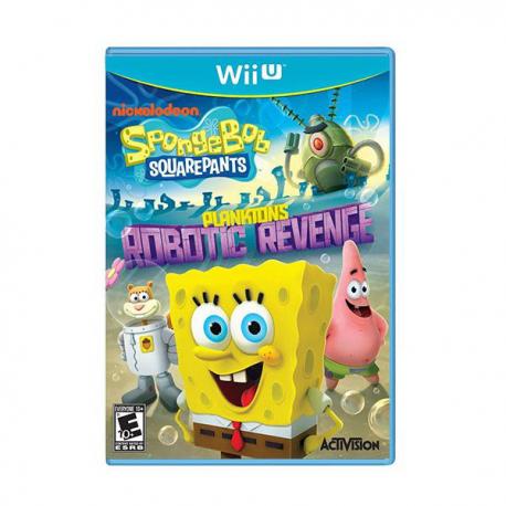 Spongebob Squarepants Plankton's Robotic Revenge [ENG] (używana) (WiiU)