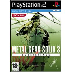 Metal Gear Solid 3 Subsistence [ENG] (używana) (PS2)