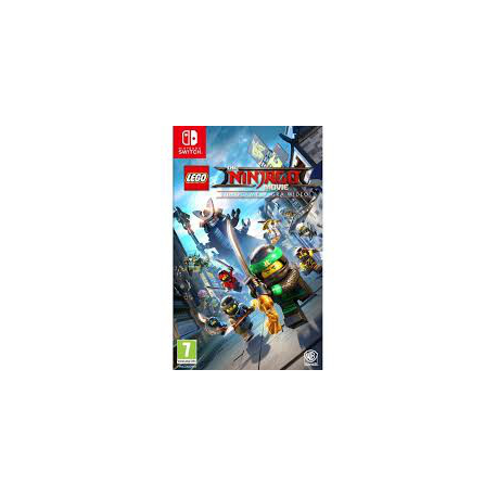 LEGO NINJAGO THE MOVIE [POL] (nowa) (Switch) SP