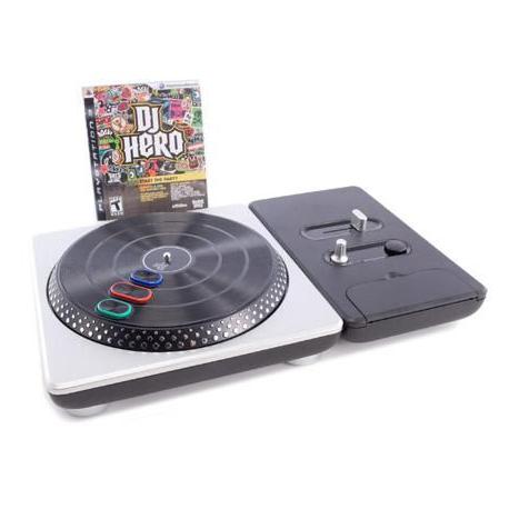 DJ Hero + 2 Gry [ENG] (używana) (PS3)