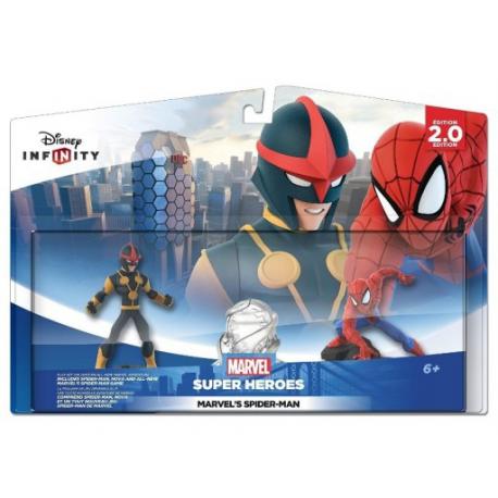 DISNEY INFINITY 2.0 ŚWIAT SPIDERMAN MARVEL HEROES (używana)