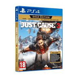 JUST CAUSE 3 GOLD EDITION [POL] (nowa) (PS4)