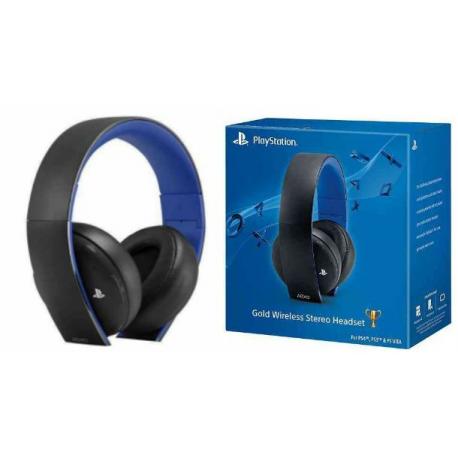 Słuchawki PS4 Bezprzewodowe Uszkodzona Obudowa (używana) (PS4)
