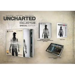 Uncharted Kolekcja Nathana Drake'a Edycja Specjalna [POL] (używana) (PS4)