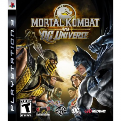 Mortal Kombat vs DC Universe Steel Book [ENG] (używana) (PS3)