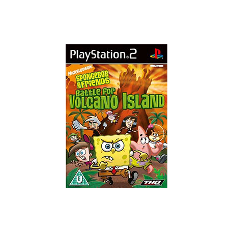 Spongebob Battle for Volcano Island (używana) (PS2)
