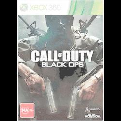 Call of Duty Black Ops Steelbook [ENG] (używana) (X360)