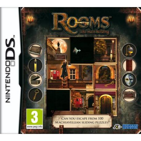 Rooms the Main Building [ENG] (używana) (NDS)