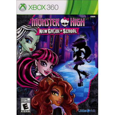 MONSTER HIGH NEWW GHOUL IN SCHHOOL [ENG] (używana) (X360)
