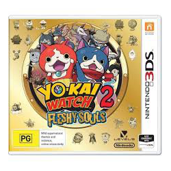 Yo-Kai Watch 2 Fleshy Souls [ENG] (używana) (3DS)