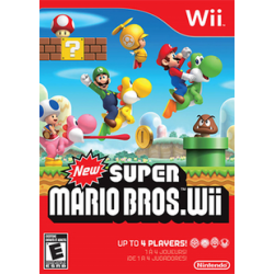 New Super Mario Bros [ENG] (używana) (Wii)
