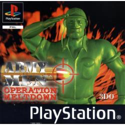Army Men Operation Meltdown [ENG] (używana) (PS1)