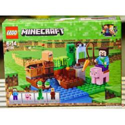 KLOCKI LEGO MINECRAFT 21138 (nowa)