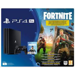 PLAYSTATION 4 PRO + FORTNITE [POL] (nowa) (PS4)