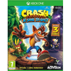 Crash Bandicoot N.sane Trilogy [ENG] (używana) (XONE)