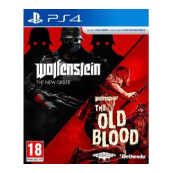 Wolfenstein: The New Order + Wolfenstein: The Old Blood [POL] (używana) (PS4)