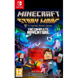 Minecraft Story Mode The Complete Adventure [ENG] (używana) (Switch)