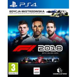 F1 2018 [POL] (używana) (PS4)