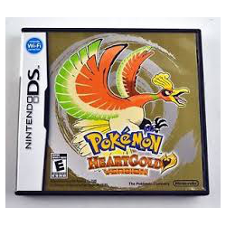 POKEMON HEART GOLD VERSION [ENG] (używana) (NDS)