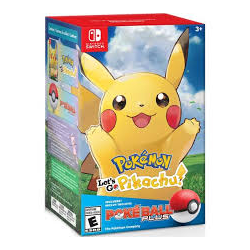 Pokémon: Let's Go, Pikachu! Poké Ball Plus Bundle [ENG] (nowa) (Switch)