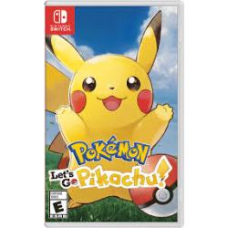 Pokemon Let's Go Pikachu [ENG] (używana) (Switch)