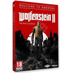 WOLFENSTEIN II THE NEW COLOSSUS Welcome to America [POL] (używana) (XONE)