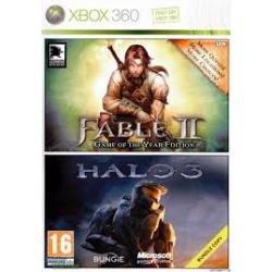 Halo 3 & Fable II Double Pack [ENG] (Używana) x360