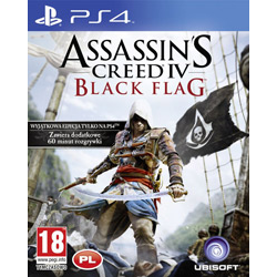 ASSASSIN'S CREED IV BLACK FLAG [PL] (Używana) PS4