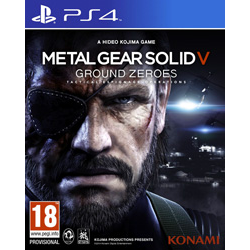 METAL GEAR SOLID  V GROUND ZEROES [ENG] (Nowa) PS4