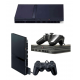 Konsola PS2 Slim (cały zestaw)