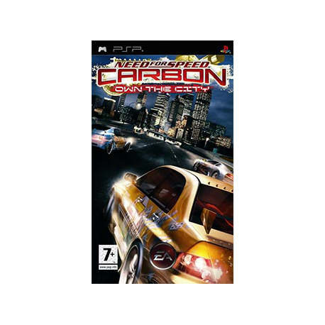 Need for Speed CarbonENG] (Nowa) PSP