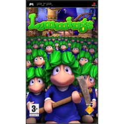 Lemmings [ENG] (Nowa) PSP
