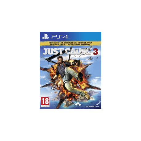 JUST CAUSE 3 [PL] (nowa) PS4