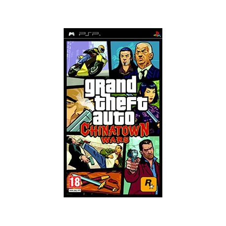 Grand Theft Auto: Chinatown Wars [ENG] (nowa) (PSP)