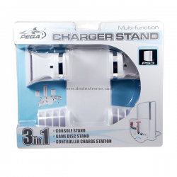 Charger Stand 3 in 1 Pega PS3  (nowa) (PS3)